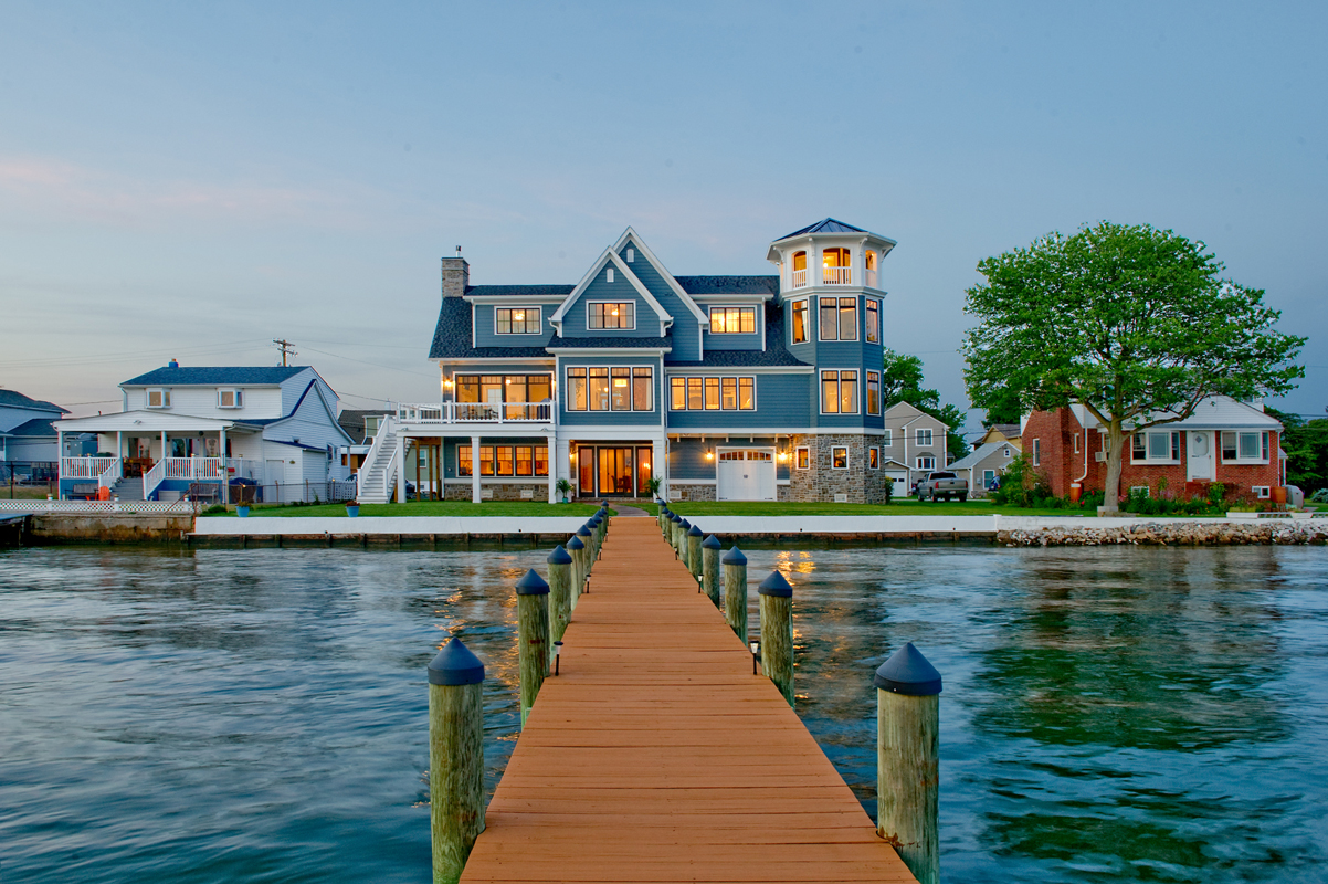 Waterfront Custom Home